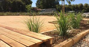 Réalisation aménagement jardin 1