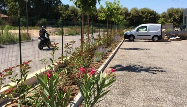 Jardin d 39 entreprise architecte paysagiste marseille for Entreprise de paysagiste