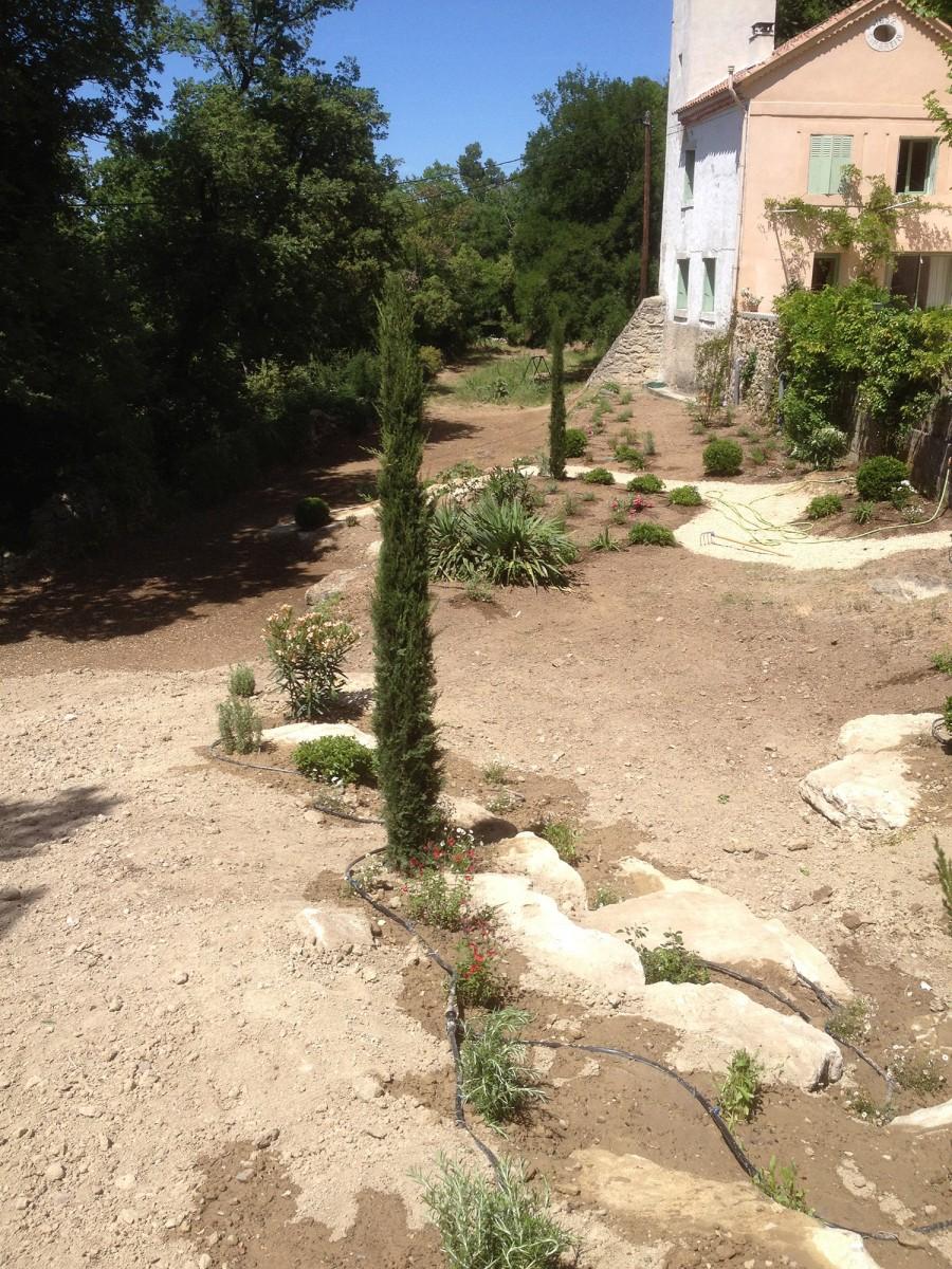 Jardinier paysagiste aix en provence cr ation d 39 un jardin - Les jardins d arcadie aix en provence ...