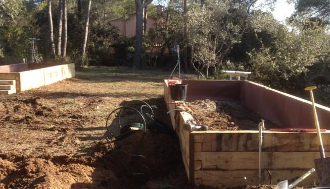 Nos jardiniers paysagistes sur la cr ation de deux potager for Jardiniers paysagistes