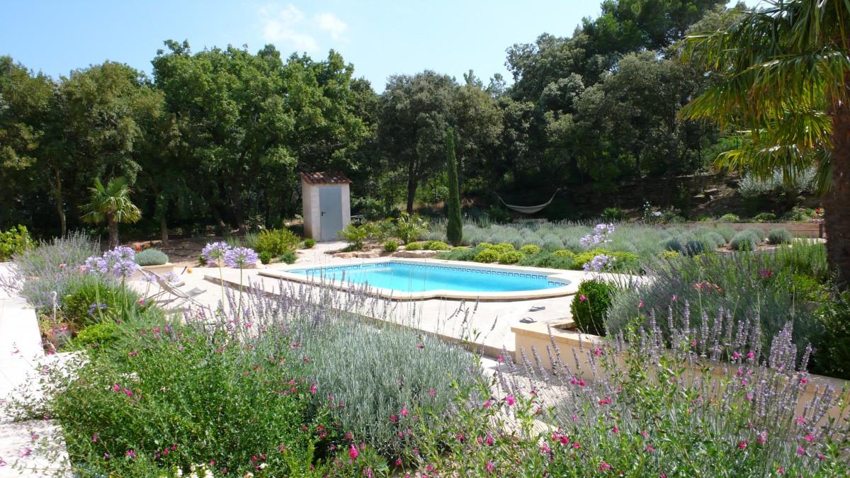 Jardinier paysagiste aix en provence sur un jardin de - Architecte paysagiste aix en provence ...