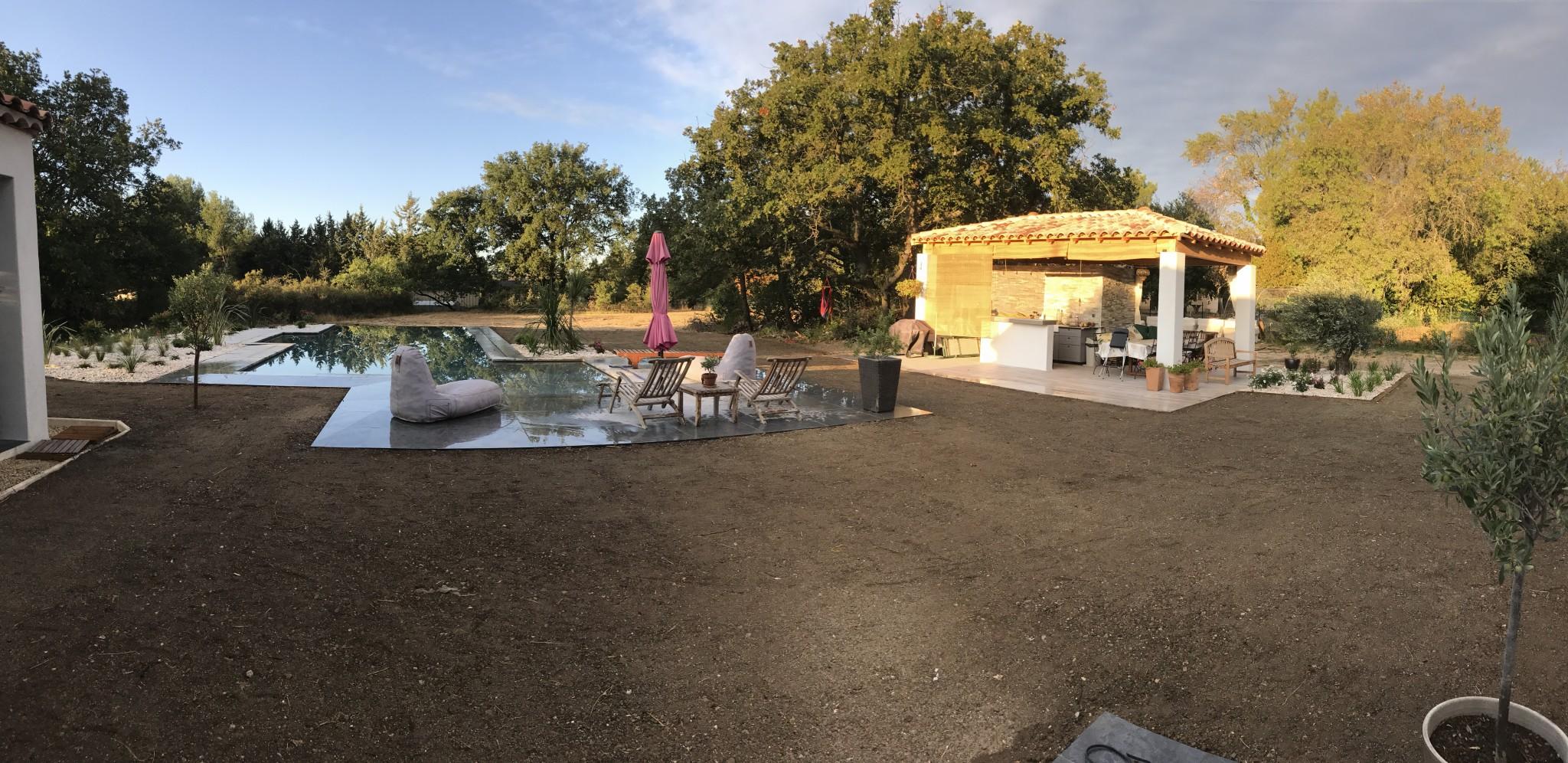 Architecte paysagiste aix en provence jardin contemporain for Architecte paysagiste contemporain